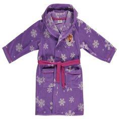 Girls Disney Frozen Fleece Bath Robe