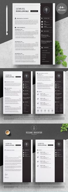 Resume Template (Two Pages)