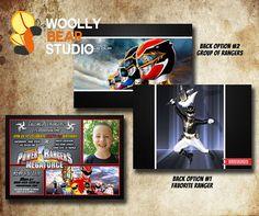 Printable Power Rangers Megaforce Photo by WoollyBearStudio, $13.50