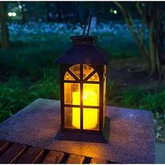 Solar Lantern–Outdoor Classic Decor Bronze Antique Metal and Glass Construction Mission Solar Garden Lantern Indoor and Outdoor Solar Hanging Lantern Entirely Solar Powered Lantern of Low Maintenance 🧡【AN IDEAL GIFT FOR THE FAMILY】- a pleasure to receive at any time and to enjoy all year round 💚【SMART DESIGN WITH ANTIQUE NAUTICAL FEEL】- an indoor or outdoor weatherproof solar candle lantern with innovative design 💙【SOLAR POWERED】- innovative technology with solar panel, rechargeable battery ( Outdoor Solar Lanterns, Solar Powered Lanterns, Solar Lights, Indoor Outdoor, Antique Lanterns, Candle Lanterns, Flickering Candle, Bougie Led, Outdoor Curtains