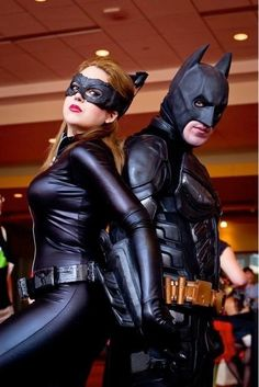 Batman and Catwoman...