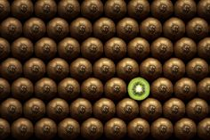 be a peeled kiwi in a world of unpeeled kiwi. #inspiration