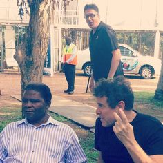 serial photo bomber may have got his most legendary targets yet. Johnny Clegg and baba Joseph Shabalala didn't know what hit em, Got Him, East Coast, Joseph, Couple Photos, Instagram Posts, Art, Art Background, Kunst, Couple Photography