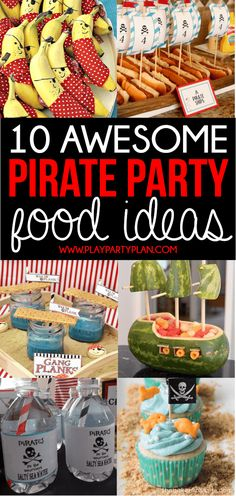 The Ultimate Collection of Pirate Party Ideas & New Pirates of the Caribbean Trailer