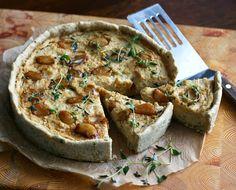 Maikin mokomin: Quiche karamellisoidulla valkosipulilla | Caramelized garlic quiche