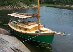 Mist - Daysailer/Pocket Cruiser - Boat Plans - Boat Designs