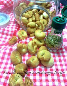 Tarallini pugliesi senza lievito ricetta veloce