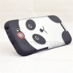 $7.95 > 10% Coupon Code : Pinthis Panda Hard Case Cover for HTC One S