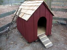 Fresh Eggs Daily®: Converting a Dog House for Ducks - Easy DIY Project