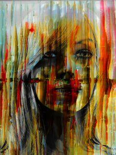 'Behind the curtain' von Gabi Hampe bei artflakes.com als Poster oder Kunstdruck $20.79