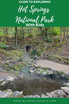 Looking for what to do in Hot Springs National Park with kids? Here's our complete guide to visiting Hot Springs with kids. #hot springs family trip #hot springs with kids #hot springs national park itinerary