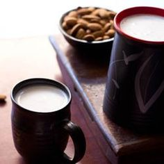 how to make almond milk-almond milk is better for u than whole milk!