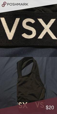 Victoria Secret Sports Bra Small Black Victoria Secret Sports Bra Victoria's Secret Tops