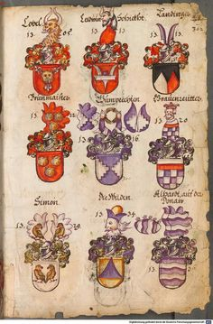 Wappen / Coats of Arms / Escudos Heráldicos