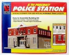 Life Like Trains 5th Precinct Police Station N Scale Layouts Building No. 7481 $19.95