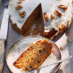 Miodowe ciasto marchewkowe / przepis: kwestiasmaku.com #ciasto #ciastomarchewkowe #carrotcake  #kwestiasmaku