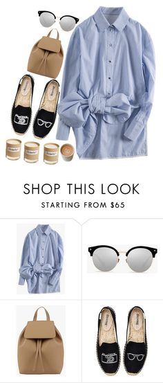 """#Casual shirt"" by credentovideos ❤ liked on Polyvore featuring Soludos and Olfactive Studio"