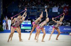 Team Italy ITA Italy Team, Rhythmic Gymnastics, Group Photos, Twins, Sports, Life, Ideas, Hs Sports, Group Shots