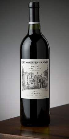 2012 Montelena Estate Zinfandel bottle shot
