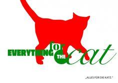 Everything for the cat | Denglisch | Echte Postkarten online versenden…