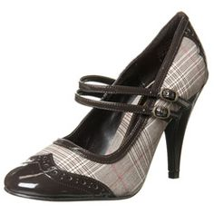 plaid mary janes - Google Search
