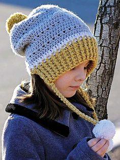 Háčkování příslušenství ke stažení - Gracie & Snowy Day Hat háčkování Set
