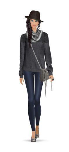 Look Styled For Covet Fashion: Cozy Knit