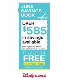 Walgreens June 2016 Savings Booklet – $585 in savings - http://couponsdowork.com/walgreens-weekly-ad/walgreens-june-2016-monthly-book/