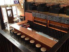 Hopwater Distribution - Lower Nob Hill - San Francisco, CA Lounge Design, Bar Lounge, Cafe Design, Store Design, Brewery Design, Restaurant Design, Restaurant Bar, Brewery Interior, Bar Counter Design