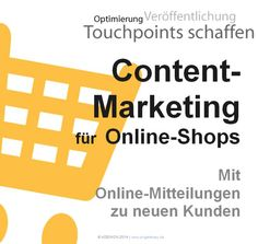 #ContentMarketing für #OnlineShops: http://pr.pr-gateway.de/content-marketing-online-shops.html #Leitfaden