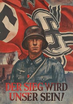 """German   WW2   """"Victory will be ours!"""""""