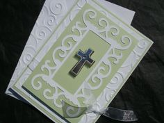 Christening Card by ComingUpCrafts