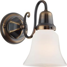 The Gilchrist - a versatile wall sconce. Customize with a myriad of shade choices.