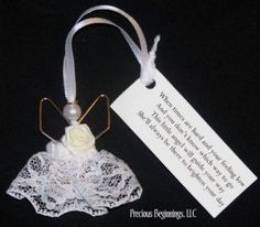 Paperclip Angel Ornament Poem |