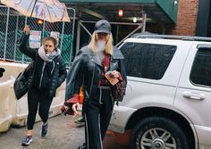 #StreetStyle   #NYC  Phil Oh's Best Street Style Pics From New York's Fall 2017 Shows