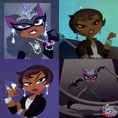 Catwoman Selina Kyle, Funny Songs, Cat Women, Dc Super Hero Girls, Dc Universe, Gotham, Cartoon Network, Girl Power, Dc Comics
