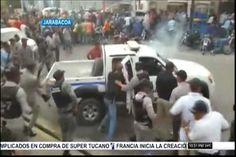 Jarabacoa: multitud intenta linchar a dos supuestos secuestradores y empezaron a volar las balas