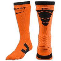 Nike Vapor Football Crew Sock - Men's - Orange / Black