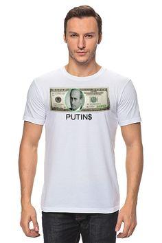 "Футболка ""PUTIN$"" от Nalivaev"