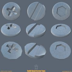 The Foundry Community :: Forums :: SubD Quad Screw Tops Maya Modeling, Modeling Tips, Digital Art Tutorial, 3d Tutorial, Blender 3d, 3d Design, Game Design, 3ds Max, Polygon Modeling