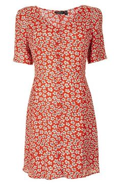 Topshop 'Daisy' Floral Maternity Tea Dress available at #Nordstrom