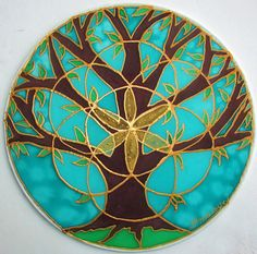 Hey, I found this really awesome Etsy listing at https://www.etsy.com/listing/117394192/tree-of-life-mandala-mandala-art-tree-of
