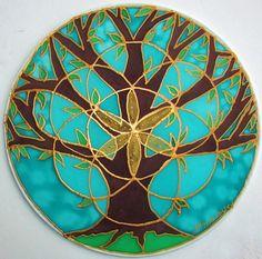 Tree of Life mandala tree mandala spiritual by HeavenOnEarthSilks