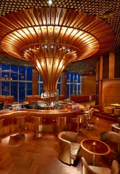 Boom Boom Room in NYC designed by Roman and Williams