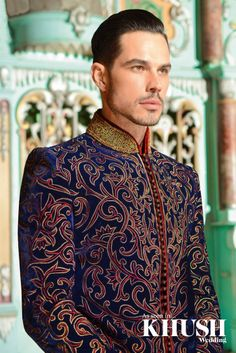 Looking for the perfect sherwani to match the bride? Cuckoo Fashion offers the latest in menswear trends.