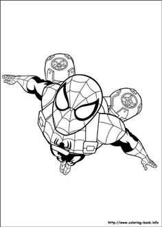 20 Best Spiderman Coloring Pages Images Spiderman Coloring