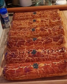 Mariannkonyha: Bejgli új recept szerint Ciabatta, Butcher Block Cutting Board, Bakery, Food And Drink, Xmas, Sweets, Gummi Candy, Christmas, Candy