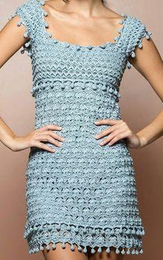 Vanessa Montoro, Knitting, Dresses, Fashion, Vestidos, Crocheting, Manualidades, Atelier, Tricot