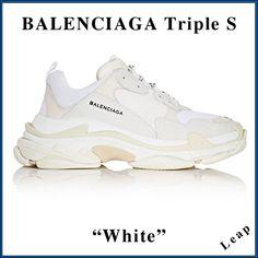 【BALENCIAGA】2018AW バレンシアガスーパーコピー 入手困難☆激レア Triple S Trainer ホワイト 483513