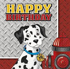 Fire Truck Birthday Beverage Napkins 16ct -- Continue to the product at the image link.  This link participates in Amazon Service LLC Associates Program, a program designed to let participant earn advertising fees by advertising and linking to Amazon.com.